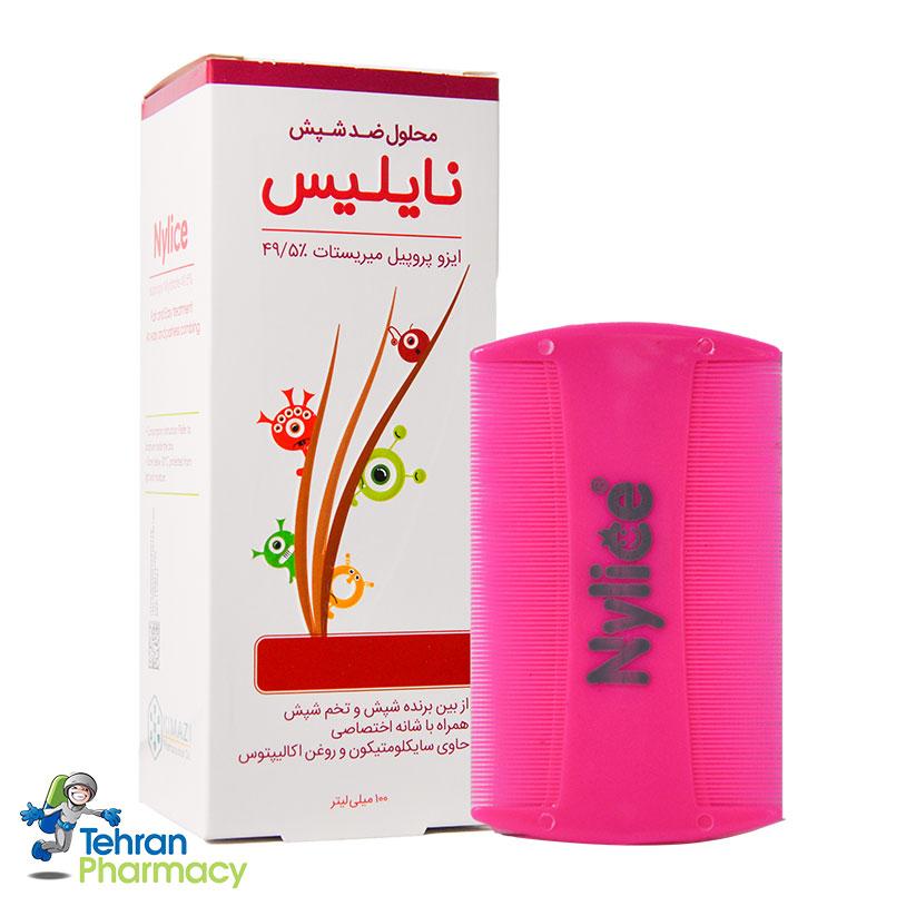 محلول ضد شپش نایلیس کیمیا کالا رازی